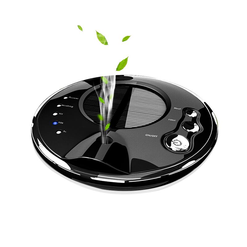 车载空气净化器 除甲醛太阳能香薰车家用净化器负离子加湿器PM2.5
