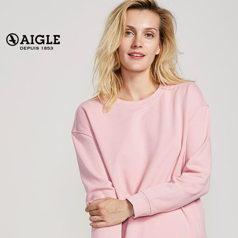 AIGLE 艾高 女士圆领保暖抓绒衣 CARBELLA