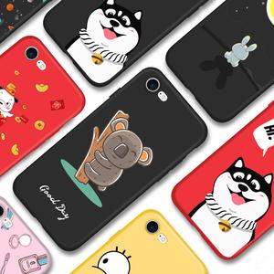 苹果6手机壳软硅胶 iPhone6s全包防摔创意iPhone7/8保护套6plus磨砂超薄8P全包边I6六外壳男女7plus个性潮款