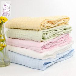 张小马纯棉纱布浴巾新生儿童浴巾盖毯宝宝浴巾盖毯婴儿童纯棉浴巾