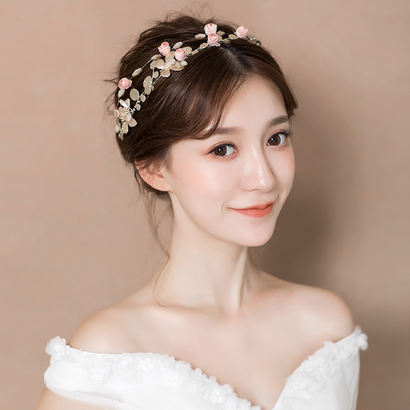 Usd 32 93 2018 New Bride Headdress Korean Sensi Hair Hoop Hair