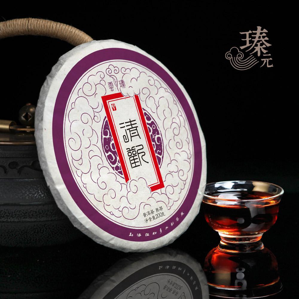 笋壳装1筒7片 2012年熟茶 发烧普洱