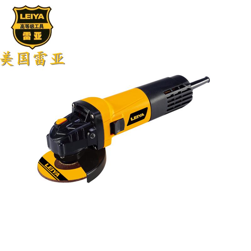 美国雷亚推杆式大功率角磨机100-04侧开关打磨机手磨机工业切割机