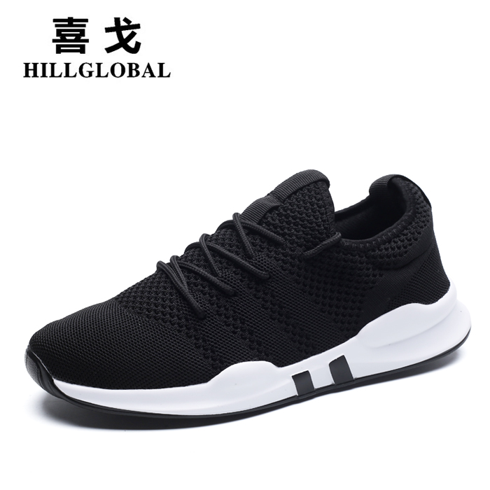 2018 new spring men's sports running tide shoes Korean version of the wild men's shoes students shoes winter