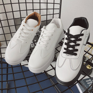 2020 spring wild tide shoes youth white shoes men students casual sports shoes white Korean shoes