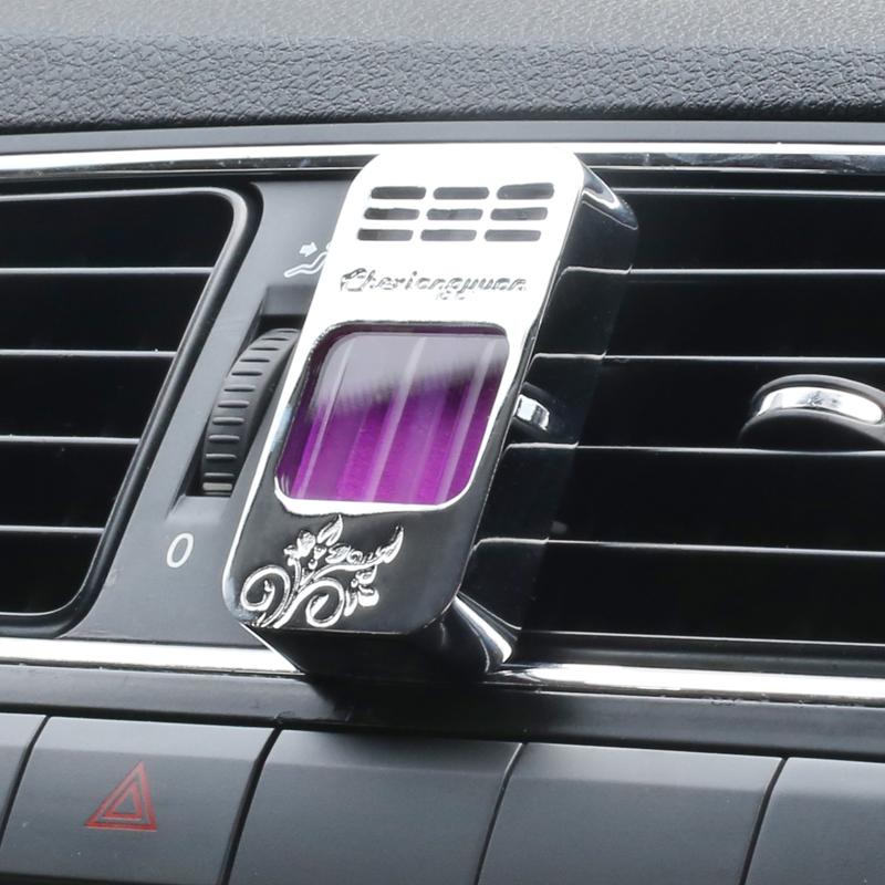 创意合金汽车出风口香水