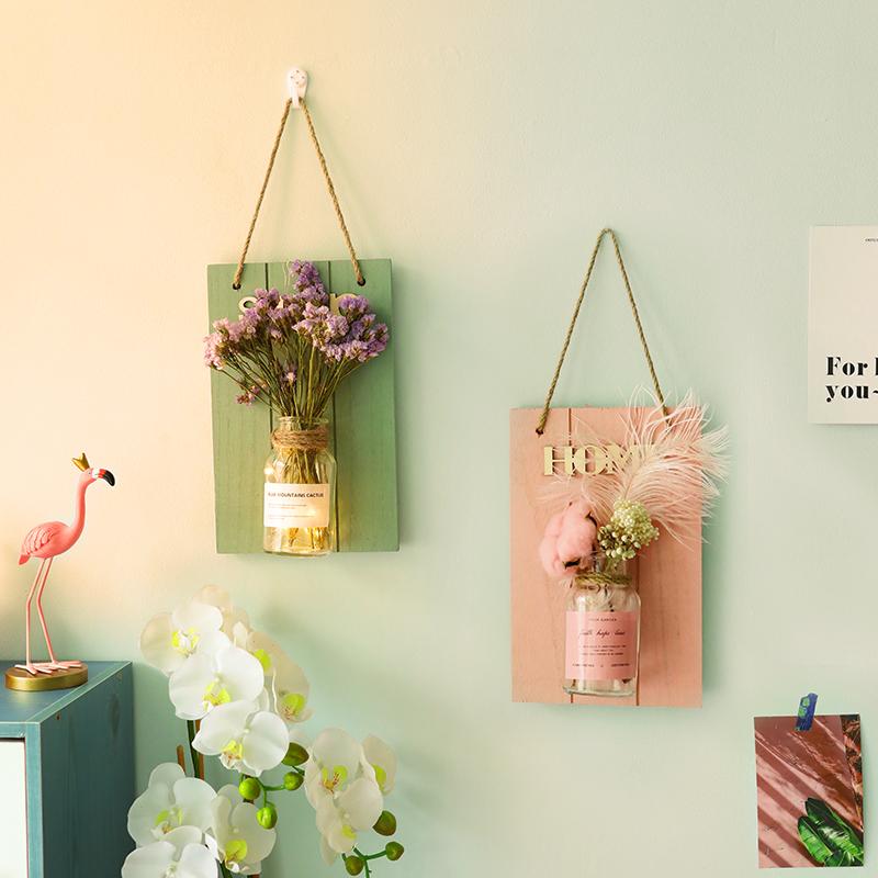 墙面墙壁装饰挂件墙上ins风创意挂饰摆件房间餐厅卧室内装修饰品