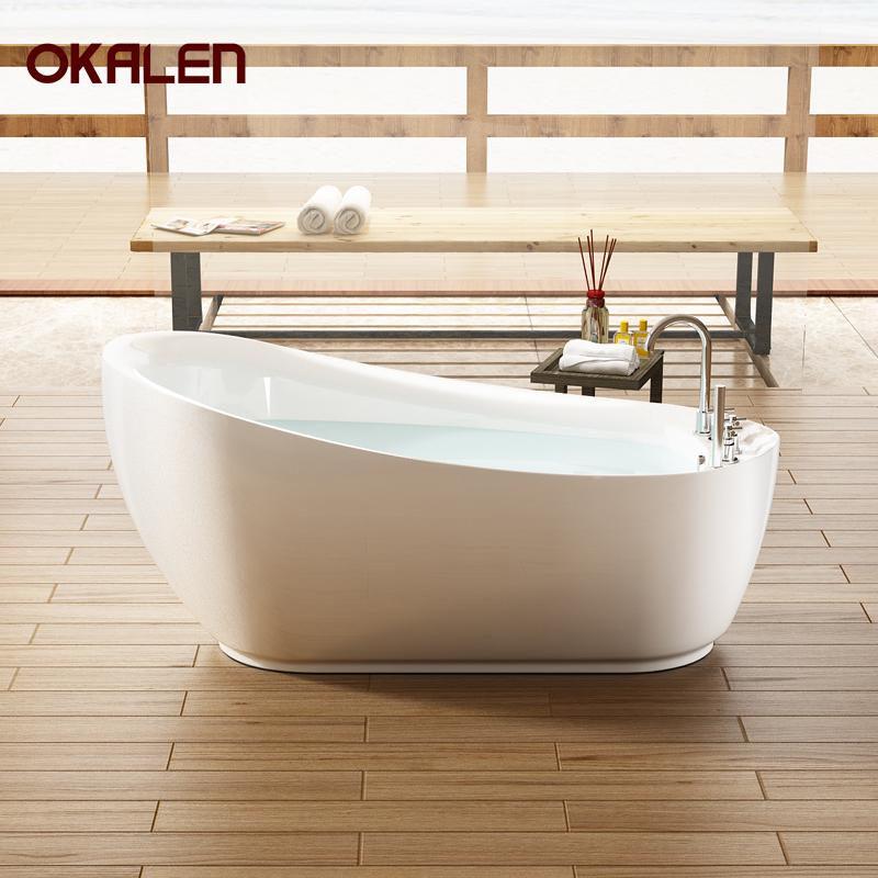 欧凯伦 贵妃浴缸亚克力独立式家用成人泡泡按摩1.4m-1.8米卫生间