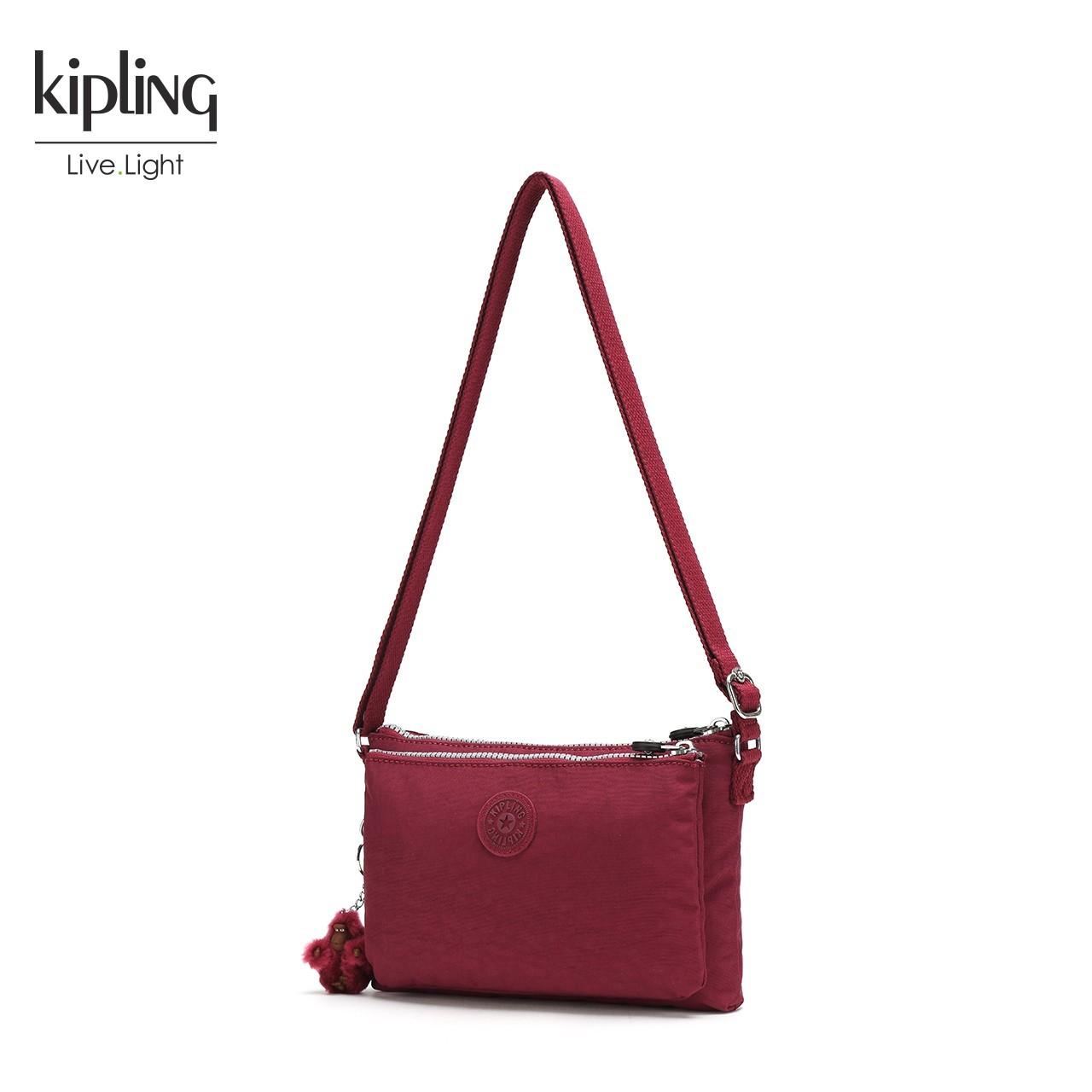 Kipling凯浦林时尚女包斜挎2018新款单肩包包ins超火包斜跨K23547