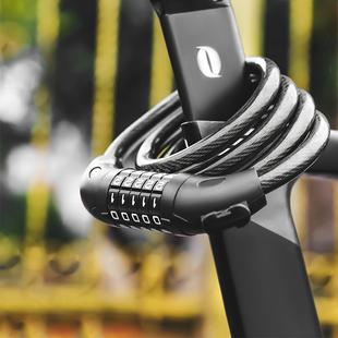 自行车锁山地车锁防盗密码锁