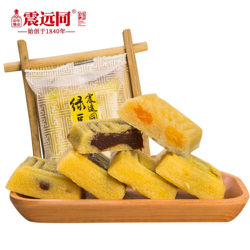 中华老字号,震远同 湖州特产绿豆糕 1000g