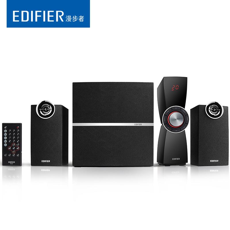 Edifier-漫步者 C2XB电脑音箱2.1低音炮台式重低音电视机蓝牙音响家用