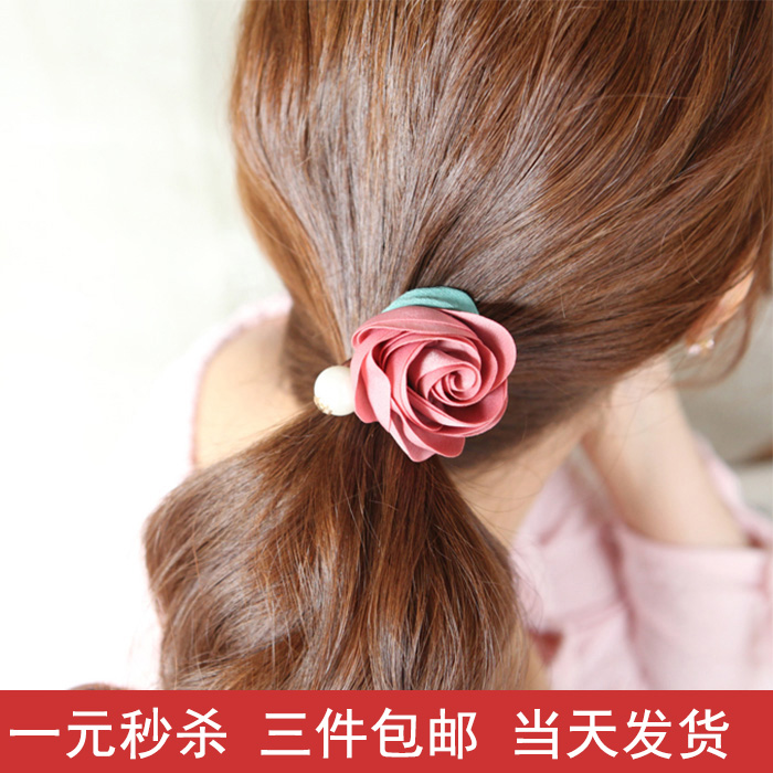 Korea Hair Band Hair Simple Rubber Band Hair Rope