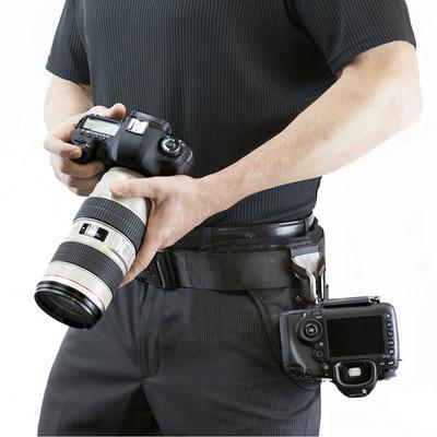 SpiderPro Dual Camera System v2双机悬挂腰带单反腰挂相机背带