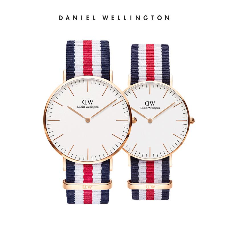 DanielWellington情侣对表DW男女织纹带正品石英表DW手表
