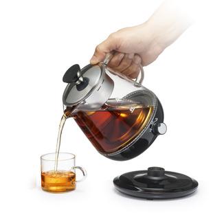 煮茶器小容量迷你型安博尔家用玻璃全自动蒸汽电煮茶壶安化黑茶
