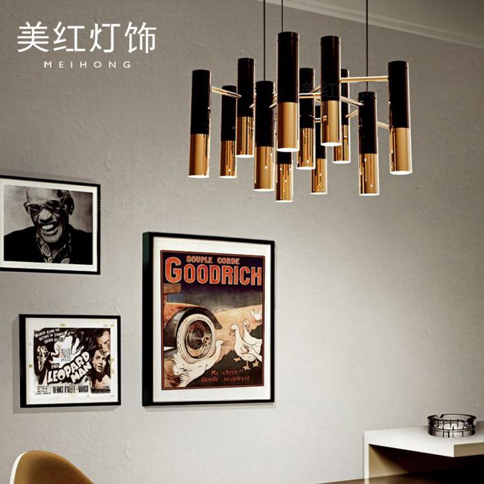 后现代别墅大气客厅餐厅吊灯北欧简约创意个性卧室艺术吧台吊灯