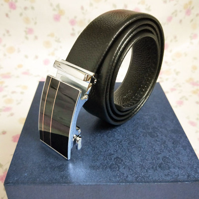 genuine Leather Belts for Men High Quality Male Brand Automa...