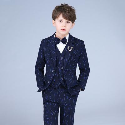 Children's small suit suit boy flower girl dress boy catwalk costume