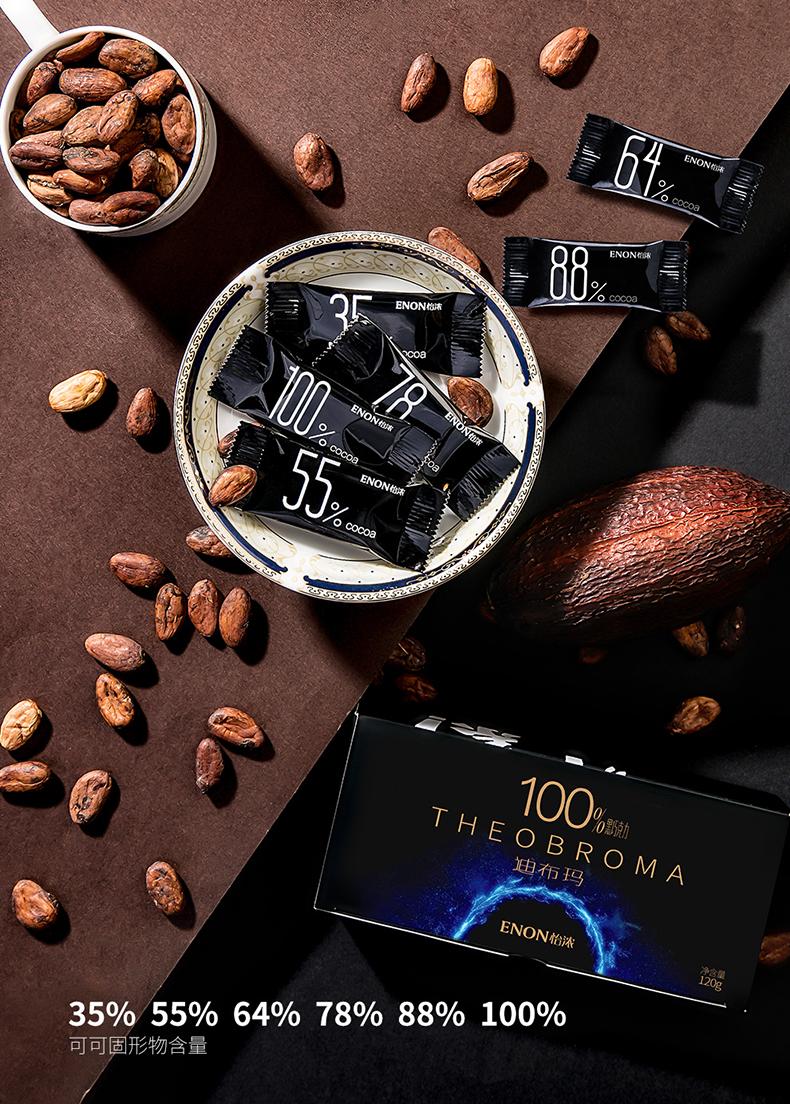 买1发3怡浓纯可可脂健康巧克力礼盒装零食