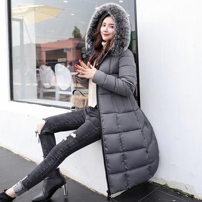 羽绒棉袄女2018新款棉衣服女中长款反季棉服女加厚冬季外套清仓女