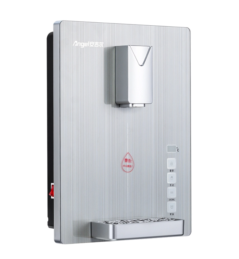 安吉尔净水器小饮水机家用厨房制热壁挂式速热管线机无胆即热挂墙