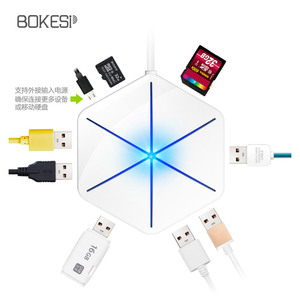 usb splitter dragged four notebook docking hub hub multi-interface card reader otg