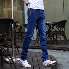 Jeans for men Poly velvet deer