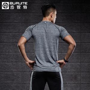运动T恤男士短袖长袖跑步上衣篮球健身服宽松吸汗透气体恤速干衣