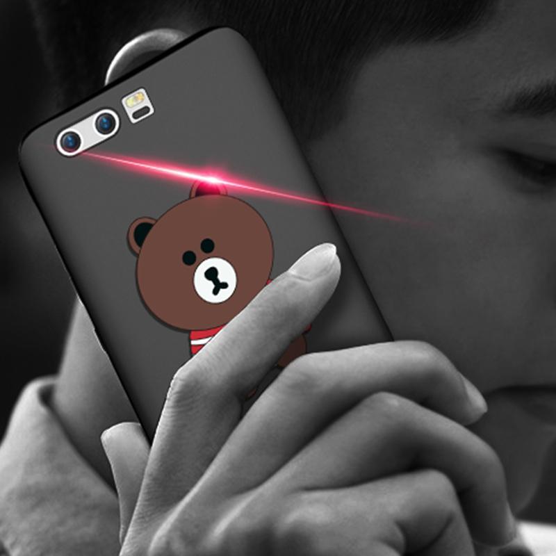 日韩硅胶软薄荣耀9卡通手机壳
