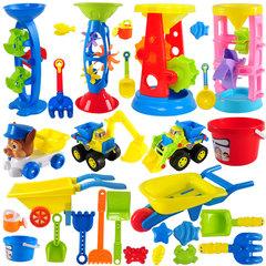 建雄儿童沙滩玩具车套装挖沙铲子桶宝宝玩沙子决明子工具男孩女孩