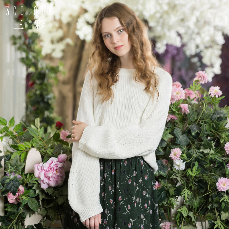 针织衫巧搭配,做优雅小女人