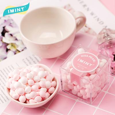 网红接吻糖约会香体糖糖果结婚礼盒装持久吐息玫瑰花香口气清新丸