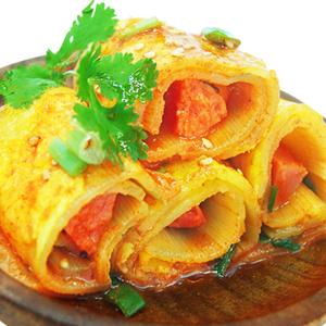 家庭装东北特产小吃朝鲜烤冷面包邮真空韩国烤冷面片专用酱料延吉