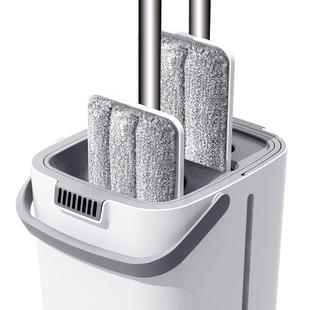 拖把免手洗家用干湿两用拖布懒人挤水地拖一拖平板墩布净拖地神器