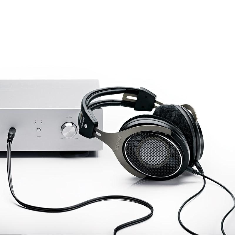 Shure/舒尔 SRH1840 旗舰级头戴耳机钕磁铁隔音专业开放式 可换线