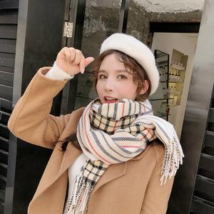 帽子女秋冬季韩版潮百搭贝雷帽日系南瓜帽羊毛英伦复古网红画家帽