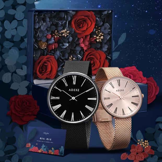 ADEXE英国小众情侣时尚手表