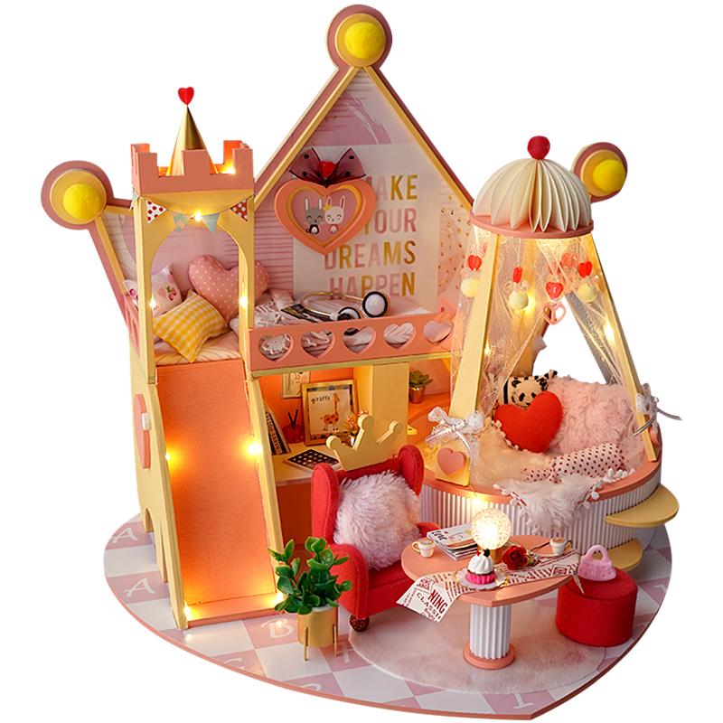 巧之匠diy小屋15厘米BJD娃娃屋手工制作房子拼装模型生日礼物女生