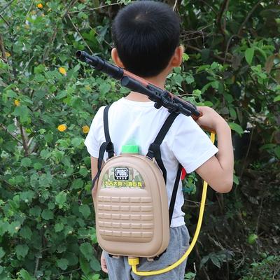 夏天吃鸡98K水枪打水仗儿童AWM水枪玩具宝宝背包水枪男孩抽拉式喷