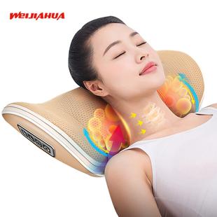 肩颈椎按摩器颈部腰部肩部多功能脖子腰椎电动仪全身家用U悠枕头