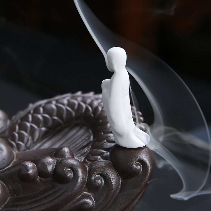 Dragon enlightenment backflow censer ceramic ta smoked incense buner furnishing articles new household indoor household zen arts and crafts