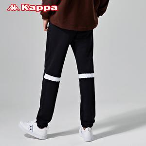 Kappa卡帕男款运动裤秋冬休闲宽松长裤小脚收口卫裤新款
