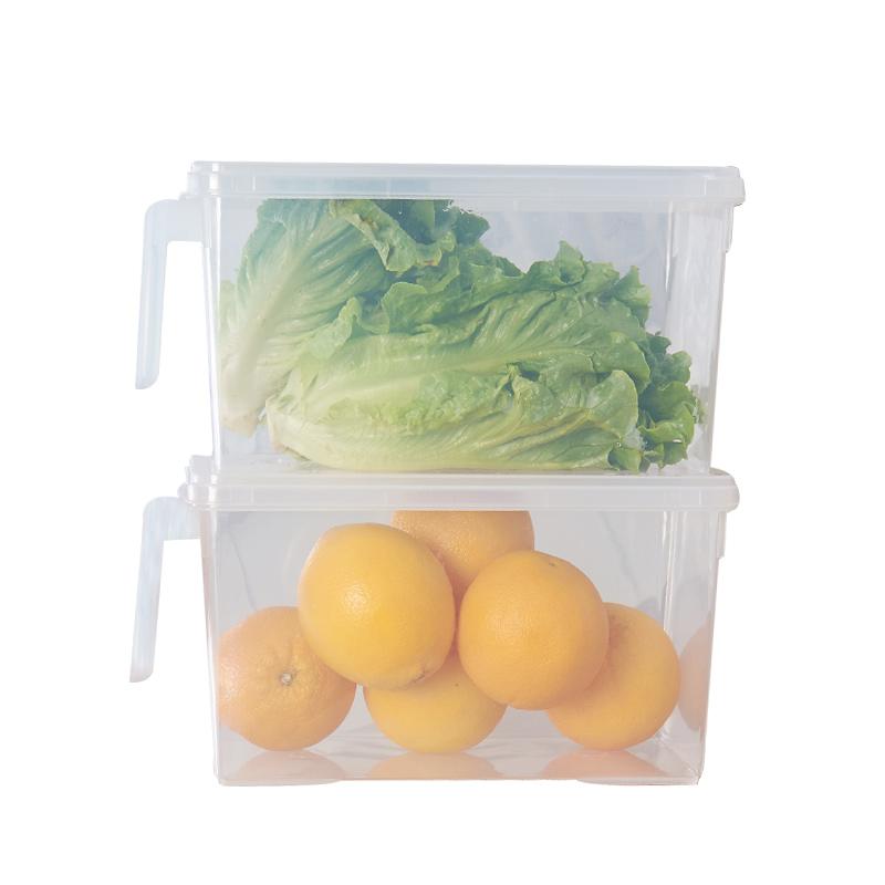 冰箱食品保鲜收纳盒5L*2个