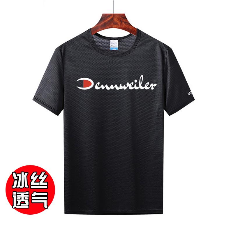 【冰丝T恤】GJXN半袖圆领潮牌短袖