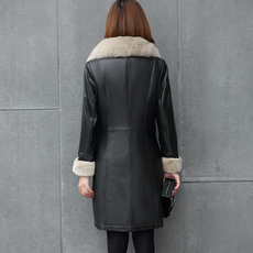 Leather jacket AO/winter ad/1565b 2016