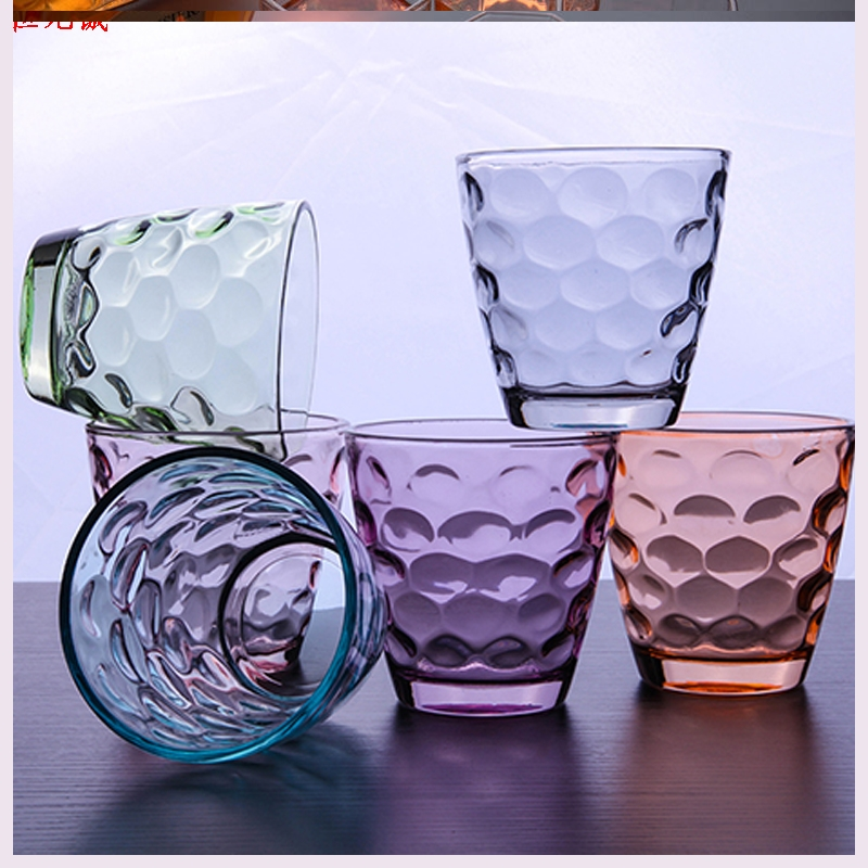 Color thermal household glass rain glass lead - free suit beer cups fruit juice glass cup