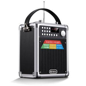 金正F10 便携式户外小型迷你手提广场舞音响蓝牙音箱K歌播放器大音量篮牙微信支付收款提示大功率超重低音炮