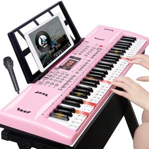 升级多功能电子琴初学者成年人儿童入门幼师玩具61钢琴键专业88键