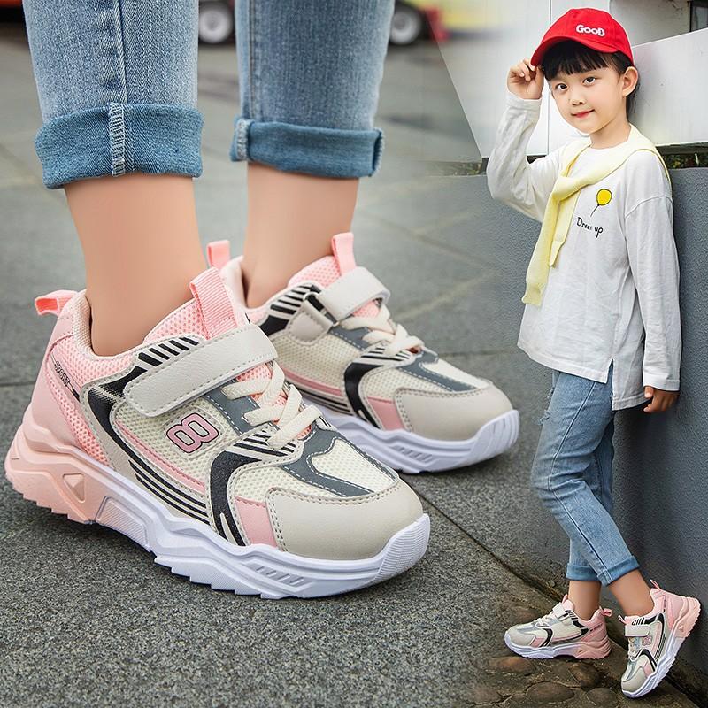 2020秋季新款儿童运动鞋男童网面鞋学生透气女童跑步鞋防滑宝宝鞋